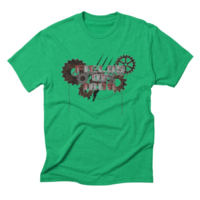 Indiana - Fields of Iron Men's Triblend T-Shirt by DystopiaRising's Artist Shop