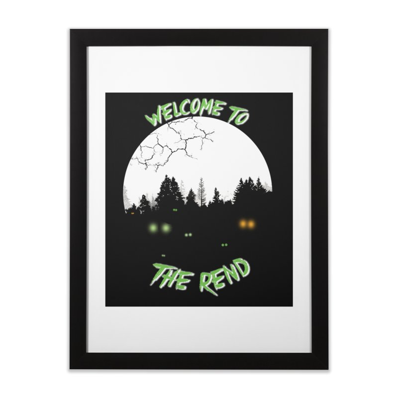 Washington - The Rend Home Framed Fine Art Print by Dystopia Rising's Artist Shop