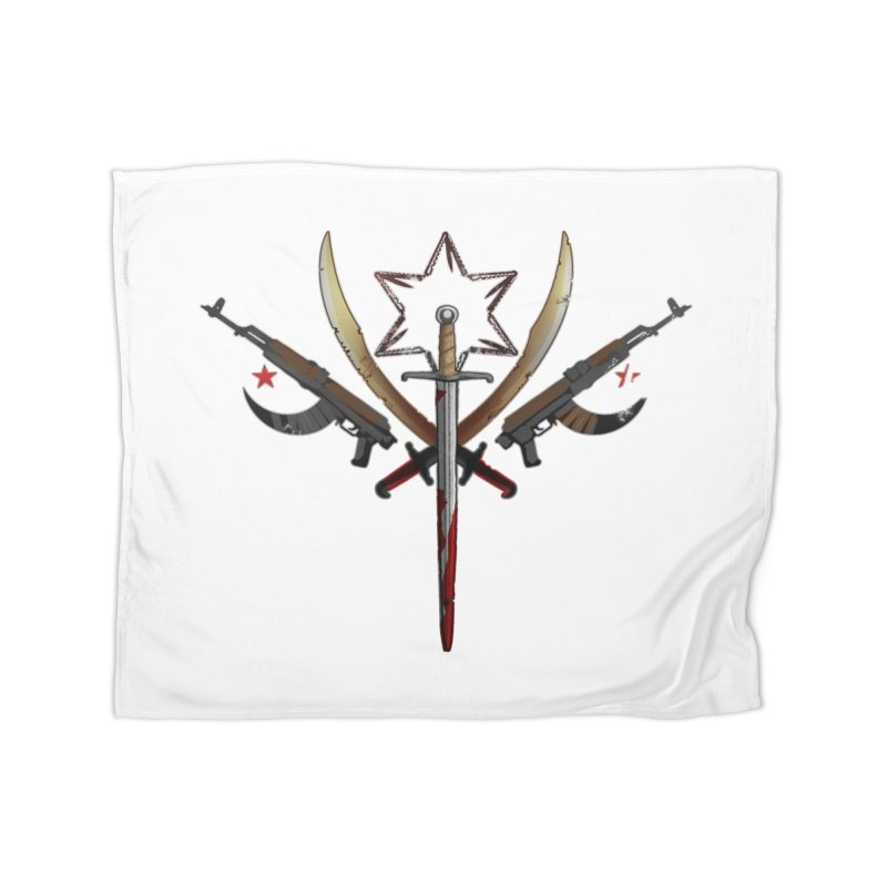 Cult of Fallow Hopes Home Fleece Blanket Blanket by Dystopia Rising's Artist Shop