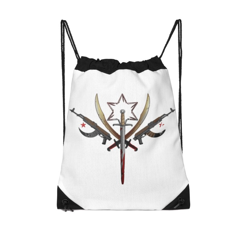 Cult of Fallow Hopes Accessories Drawstring Bag Bag by Dystopia Rising's Artist Shop