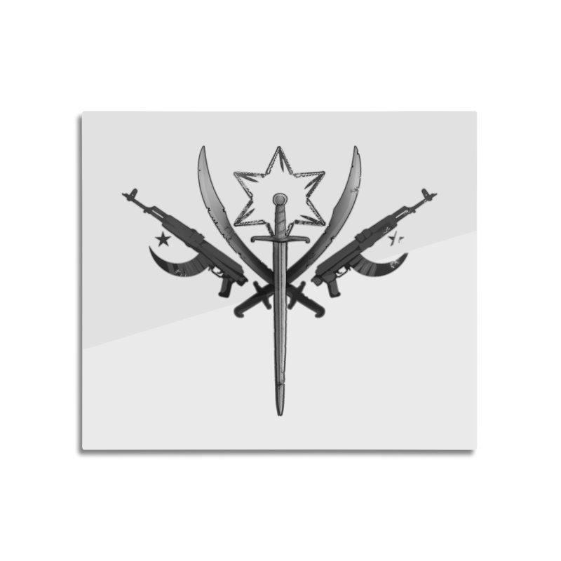 Cult of Fallow Hopes Home Mounted Aluminum Print by Dystopia Rising's Artist Shop