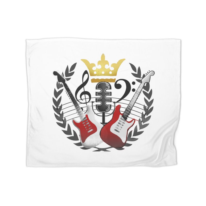 Virtues of the Kings Court Home Fleece Blanket Blanket by Dystopia Rising's Artist Shop
