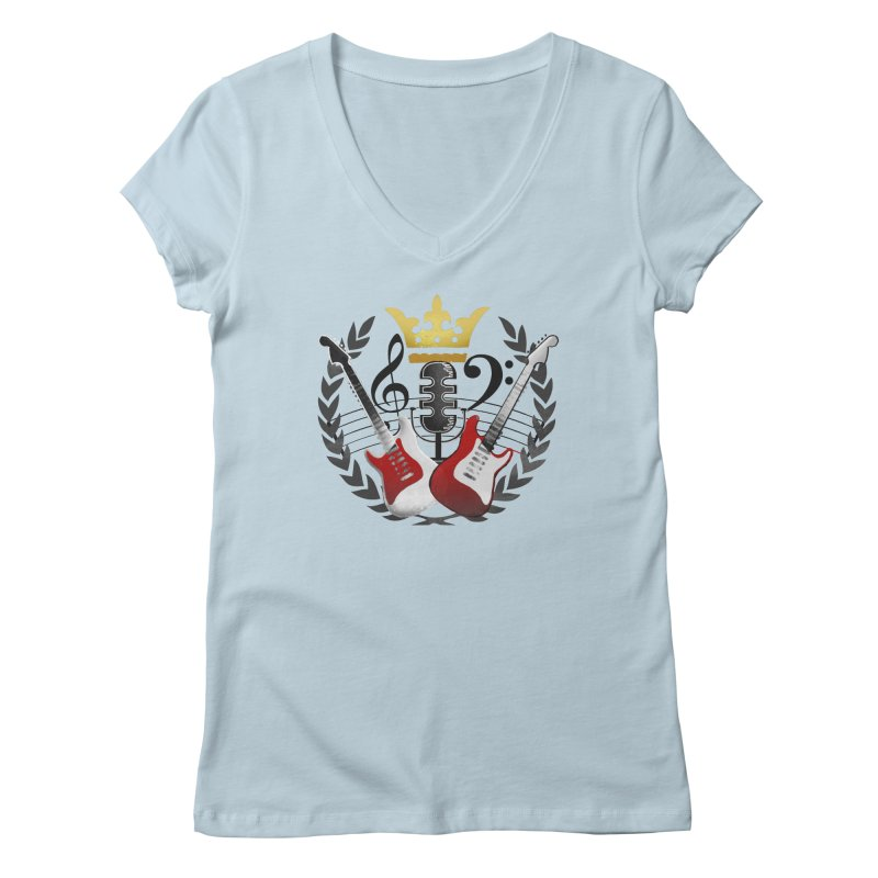 Virtues of the Kings Court Women's Regular V-Neck by Dystopia Rising's Artist Shop