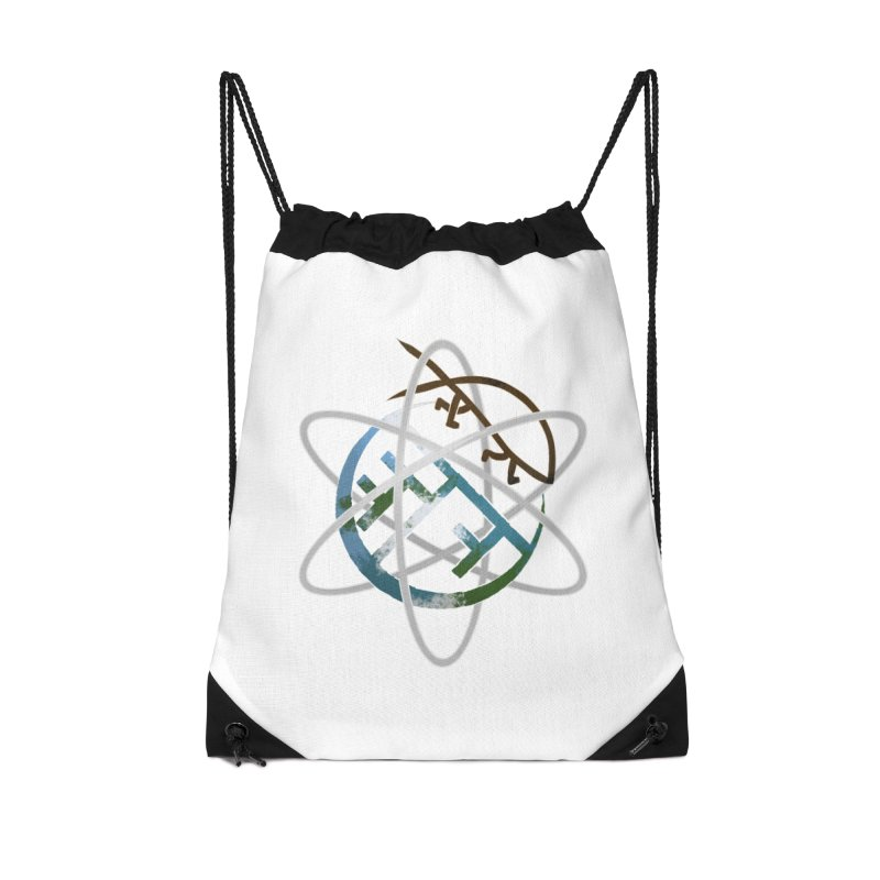 Church of Darwin Accessories Drawstring Bag Bag by Dystopia Rising's Artist Shop
