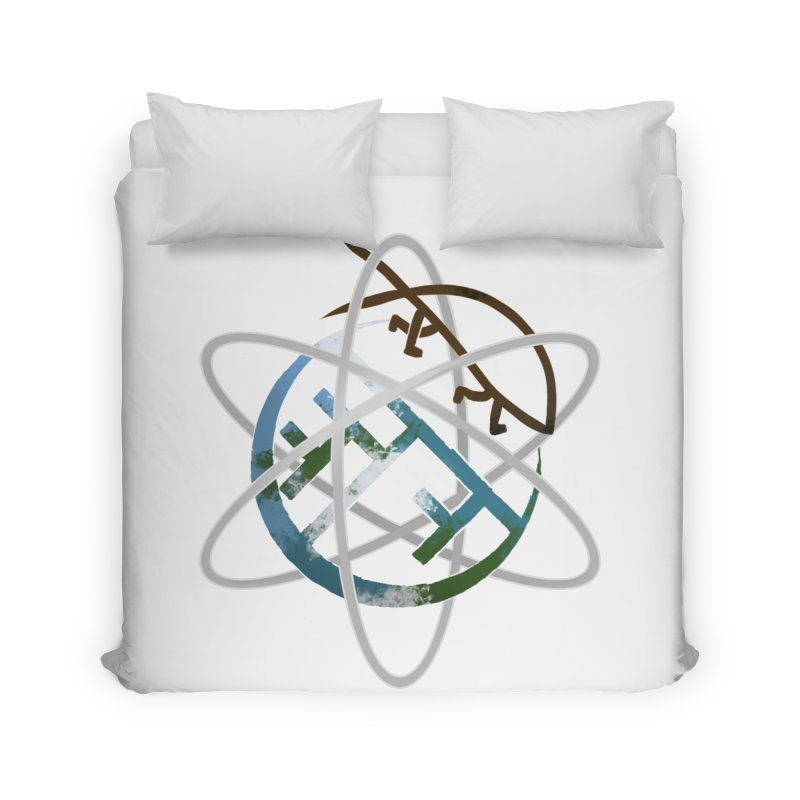 Church of Darwin Home Duvet by DystopiaRising's Artist Shop