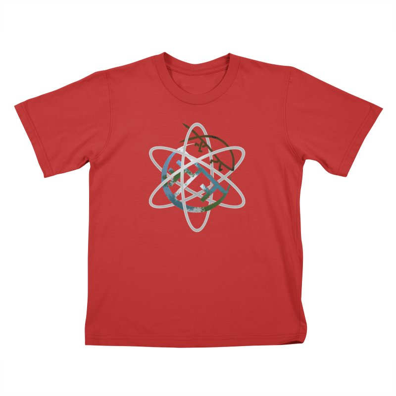 Church of Darwin Kids T-Shirt by DystopiaRising's Artist Shop