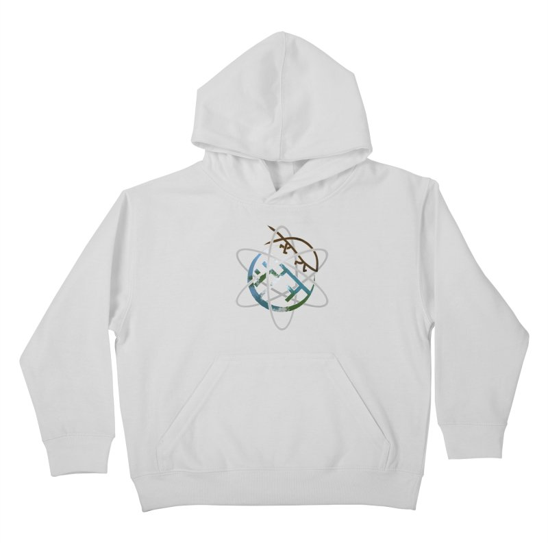 Church of Darwin Kids Pullover Hoody by DystopiaRising's Artist Shop