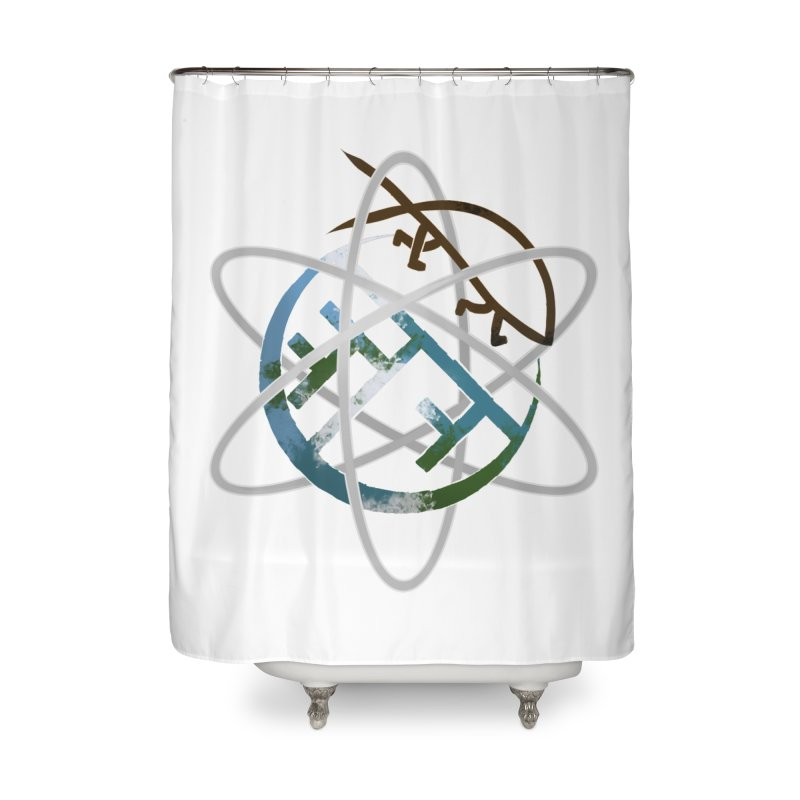 Church of Darwin Home Shower Curtain by Dystopia Rising's Artist Shop