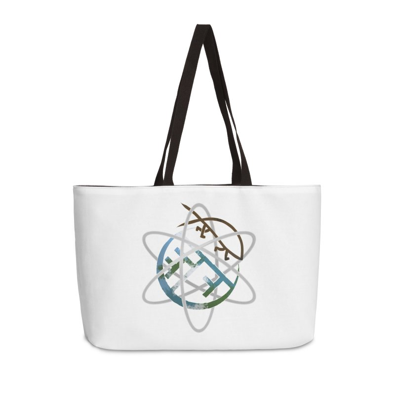 Church of Darwin Accessories Weekender Bag Bag by Dystopia Rising's Artist Shop