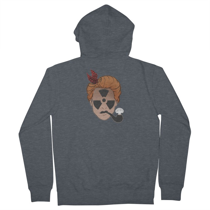 Nuclear Family Women's French Terry Zip-Up Hoody by Dystopia Rising's Artist Shop
