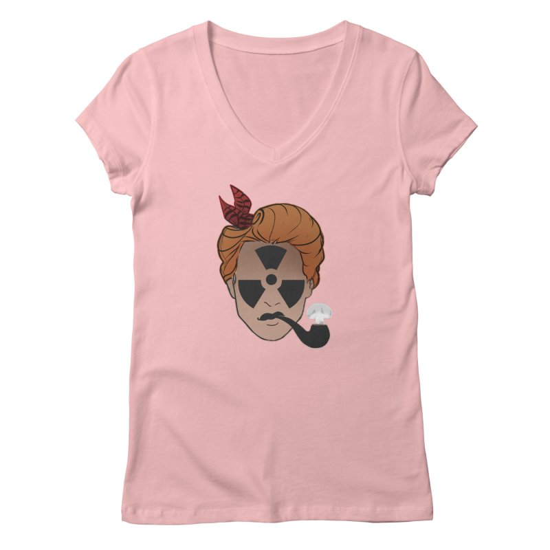 Nuclear Family Women's Regular V-Neck by Dystopia Rising's Artist Shop