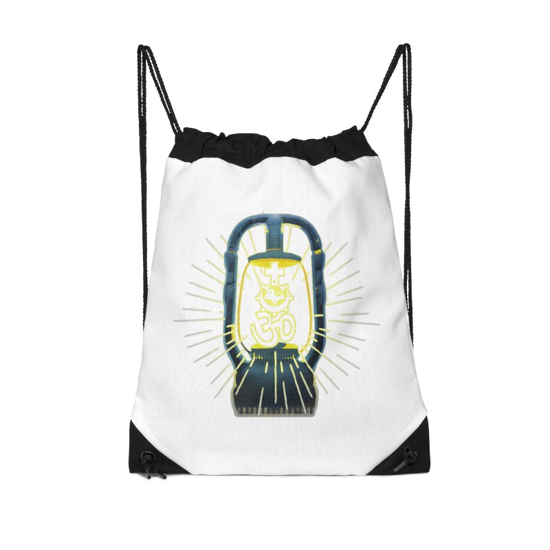 Sainthood of Ashes Accessories Drawstring Bag Bag by Dystopia Rising's Artist Shop