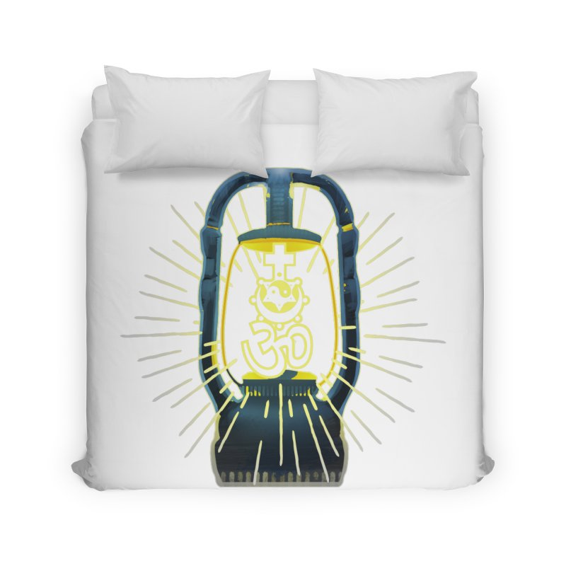 Sainthood of Ashes Home Duvet by DystopiaRising's Artist Shop