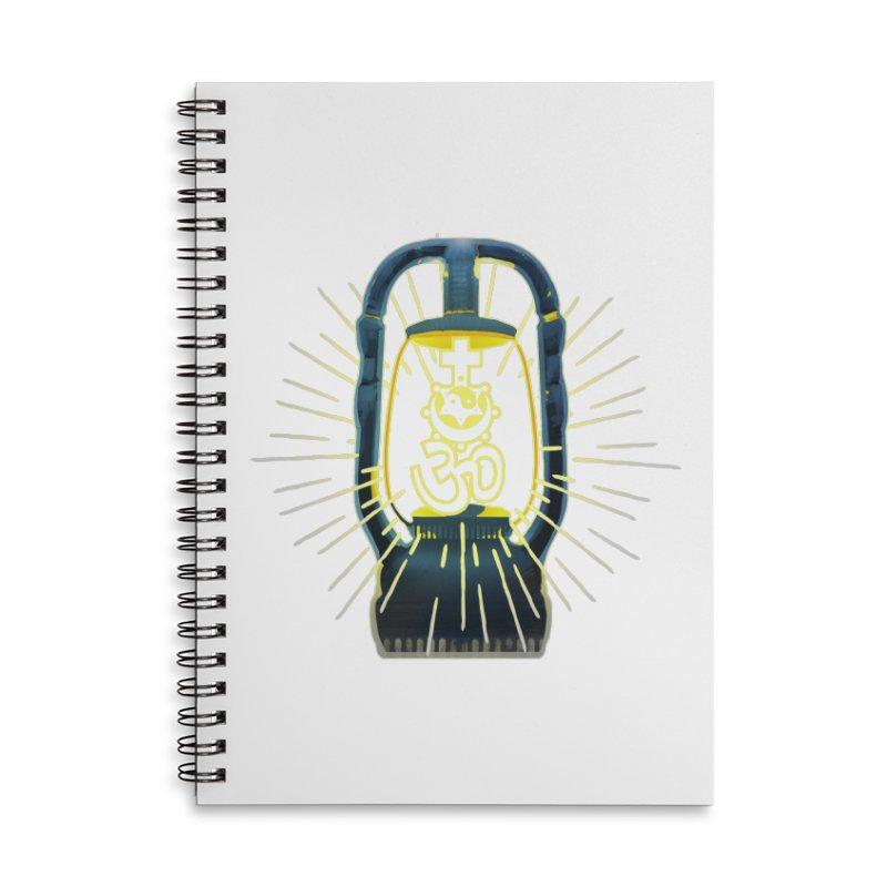 Sainthood of Ashes Accessories Lined Spiral Notebook by Dystopia Rising's Artist Shop