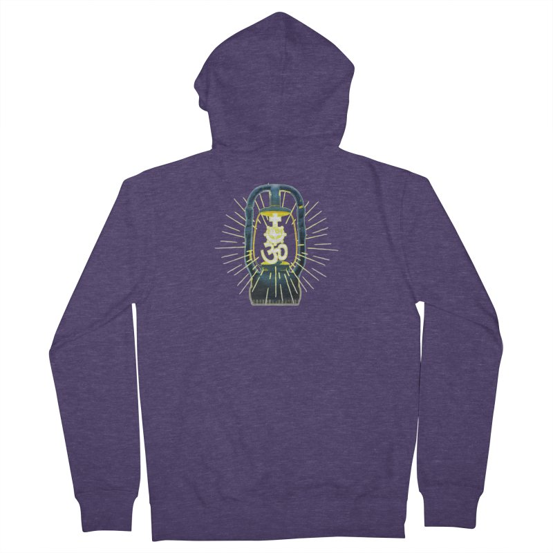 Sainthood of Ashes Men's French Terry Zip-Up Hoody by Dystopia Rising's Artist Shop