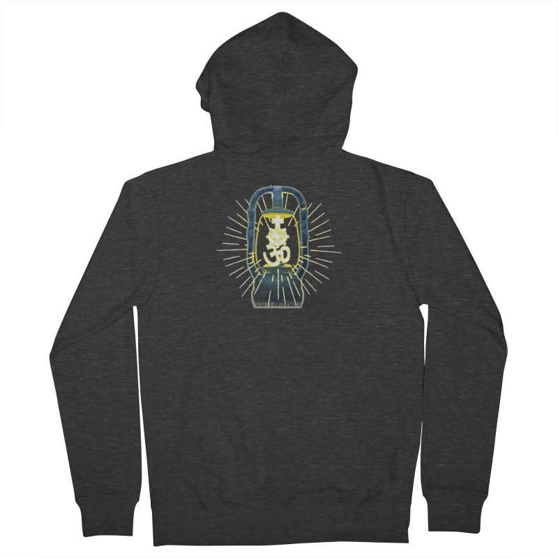 Sainthood of Ashes Men's French Terry Zip-Up Hoody by DystopiaRising's Artist Shop