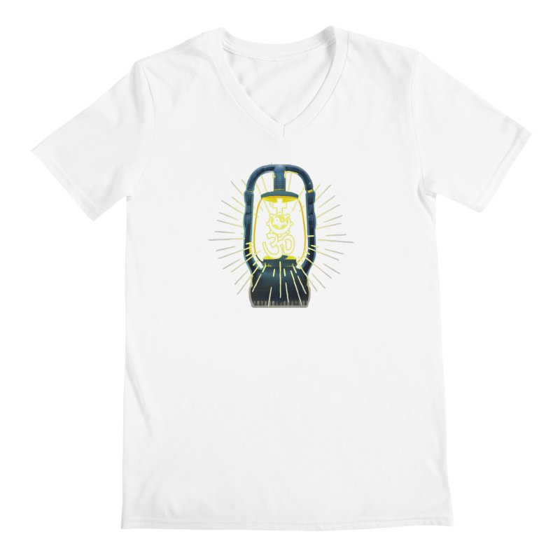 Sainthood of Ashes Men's Regular V-Neck by Dystopia Rising's Artist Shop