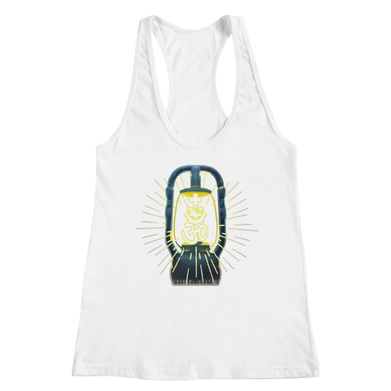 Sainthood of Ashes Women's Racerback Tank by Dystopia Rising's Artist Shop