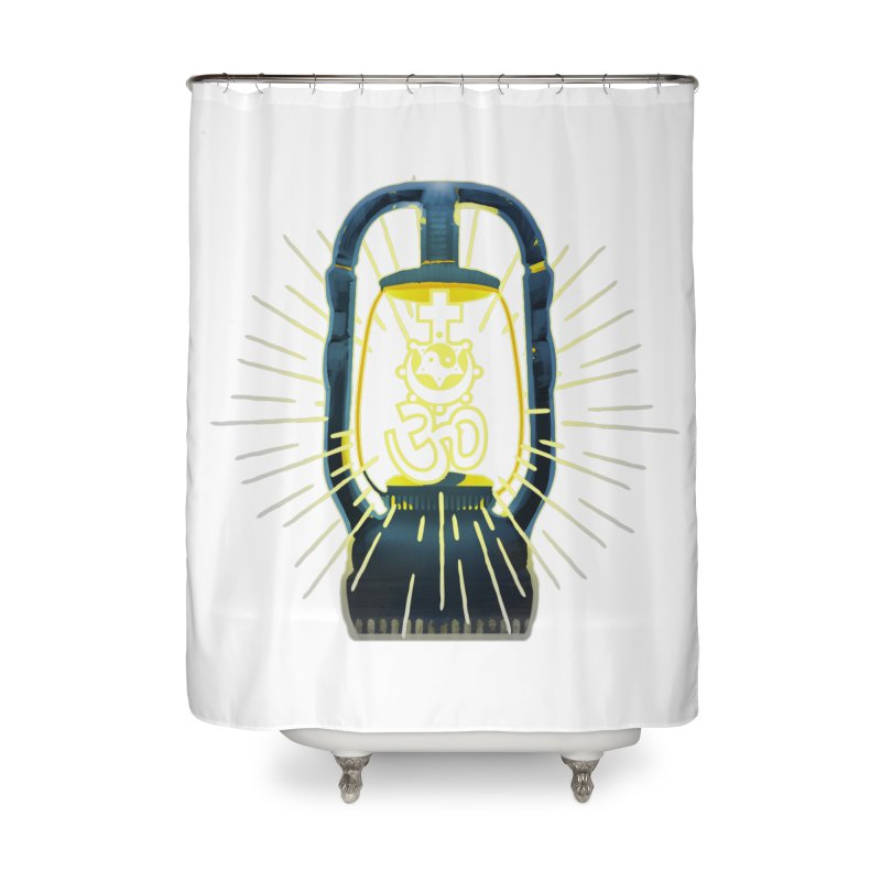 Sainthood of Ashes Home Shower Curtain by Dystopia Rising's Artist Shop