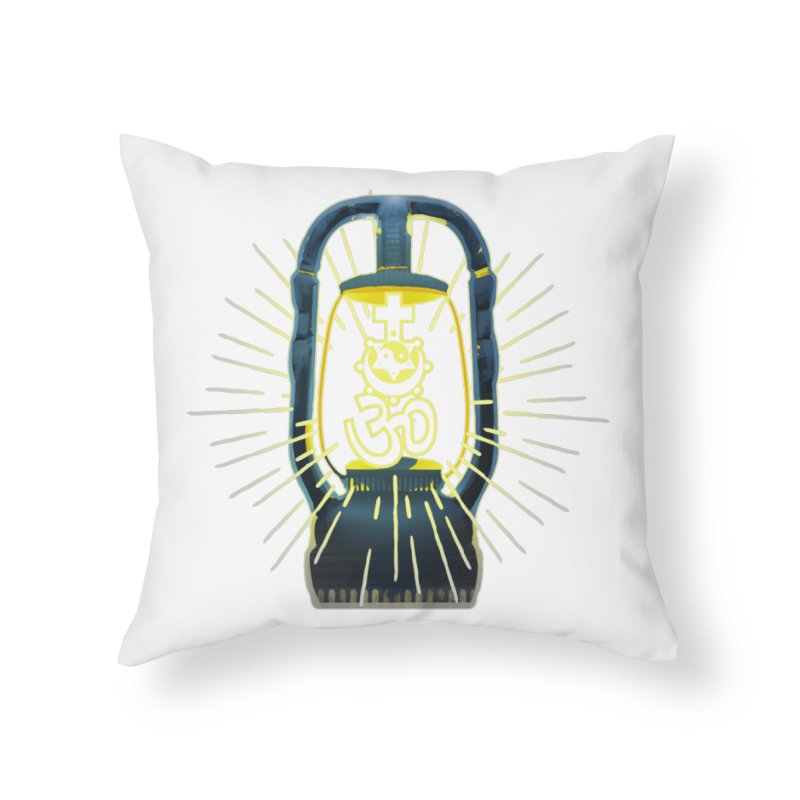 Sainthood of Ashes Home Throw Pillow by Dystopia Rising's Artist Shop