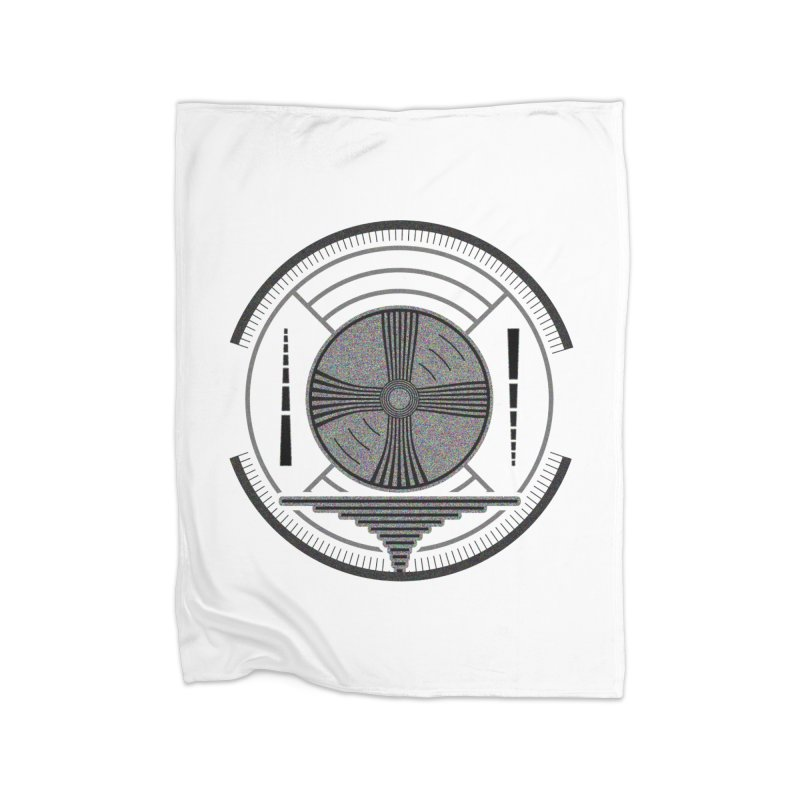 Church of the Telling Visions Home Fleece Blanket Blanket by Dystopia Rising's Artist Shop