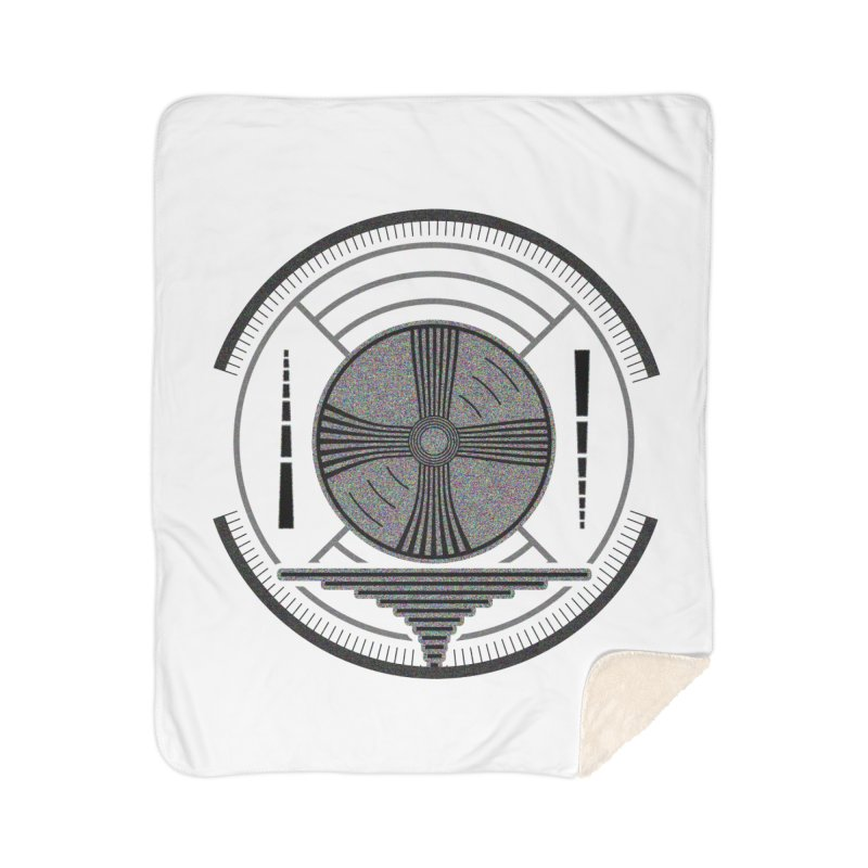 Church of the Telling Visions Home Sherpa Blanket Blanket by Dystopia Rising's Artist Shop