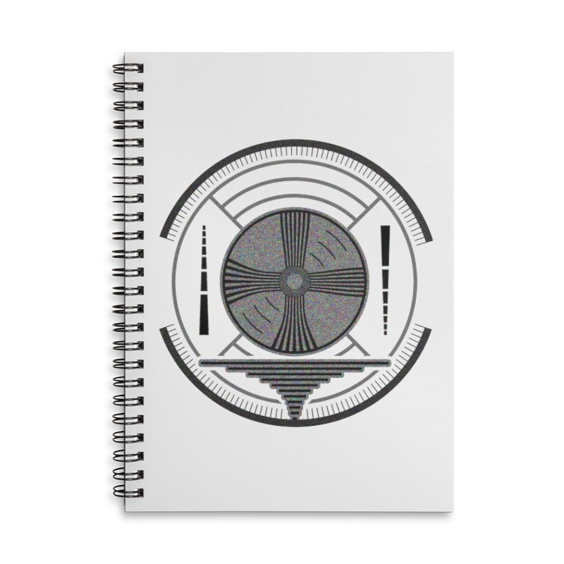 Church of the Telling Visions Accessories Lined Spiral Notebook by Dystopia Rising's Artist Shop