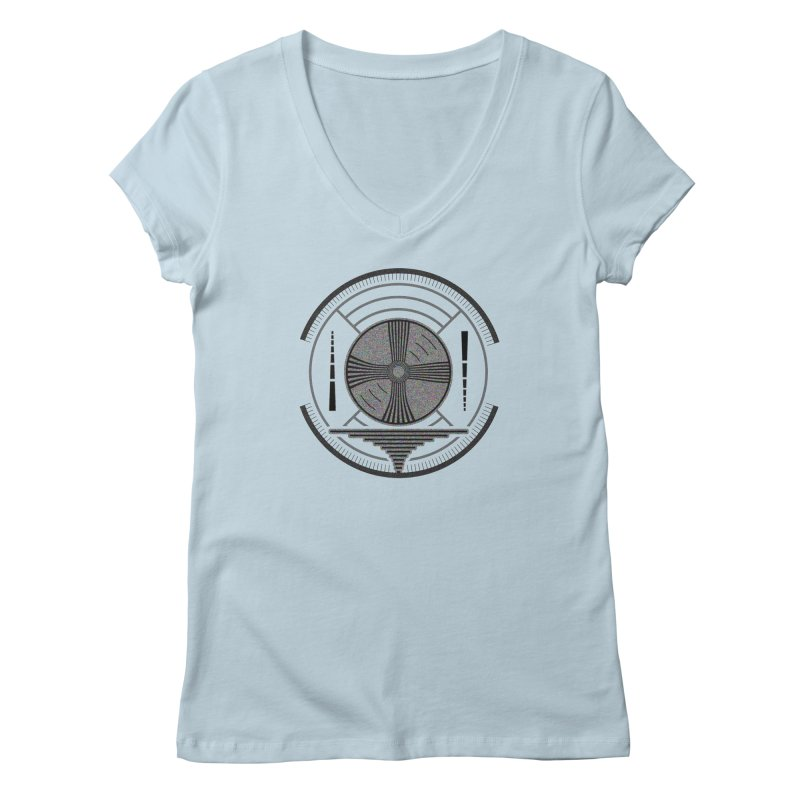 Church of the Telling Visions Women's Regular V-Neck by Dystopia Rising's Artist Shop
