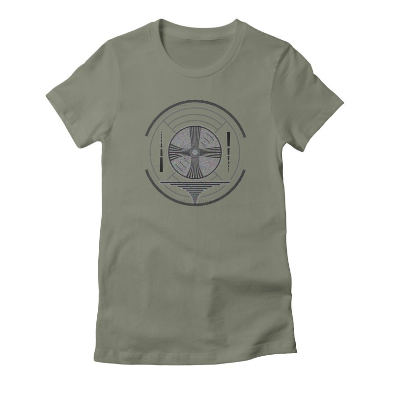 Church of the Telling Visions Women's Fitted T-Shirt by DystopiaRising's Artist Shop