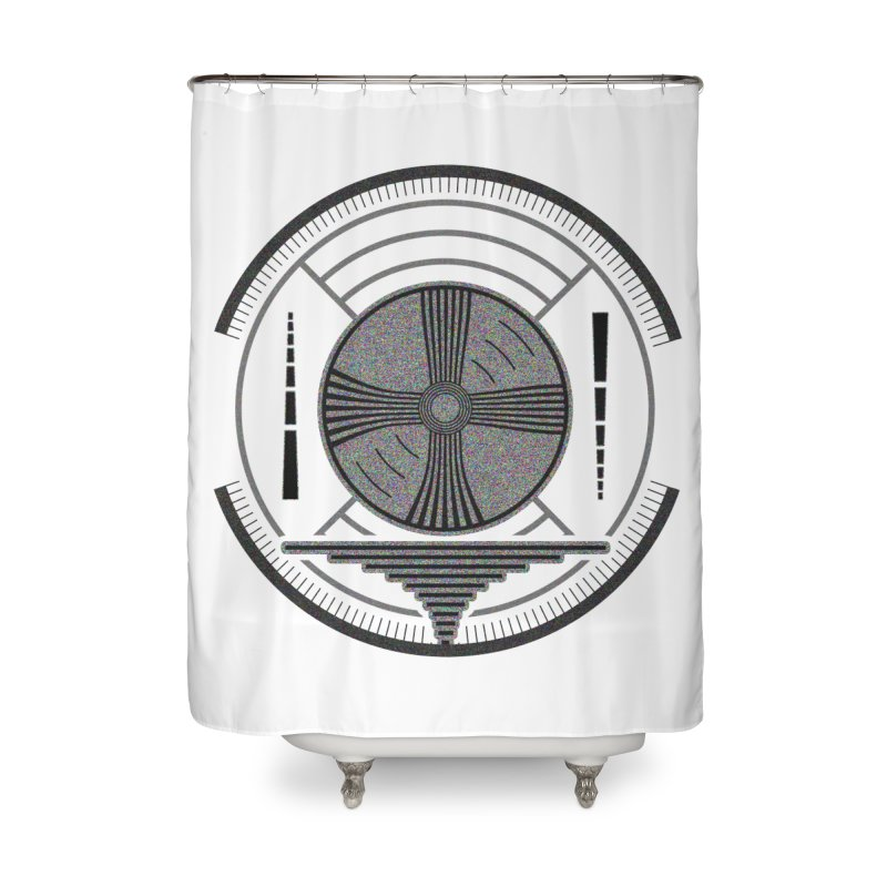 Church of the Telling Visions Home Shower Curtain by Dystopia Rising's Artist Shop