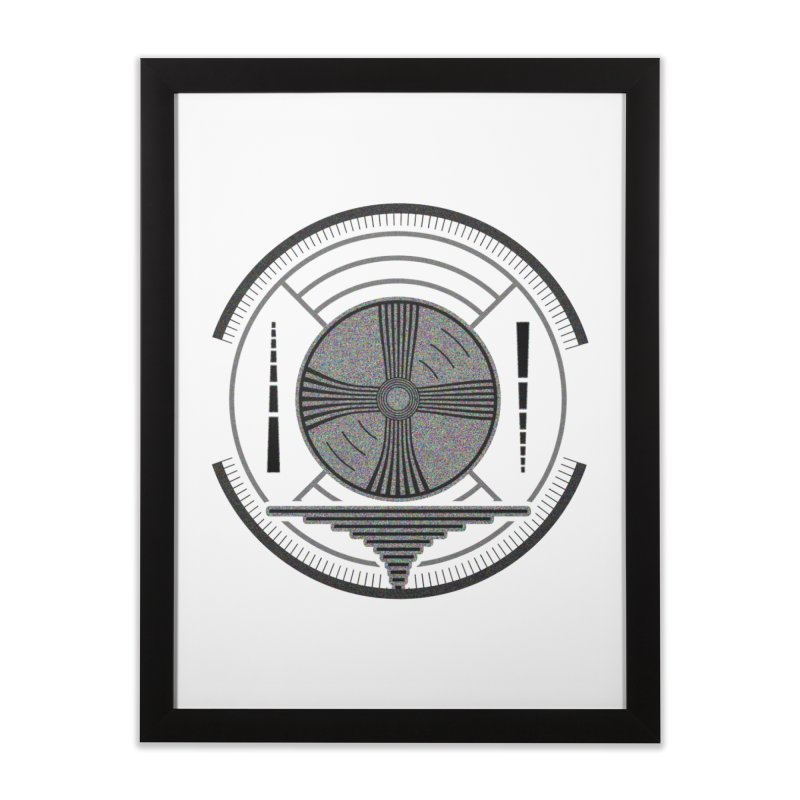 Church of the Telling Visions Home Framed Fine Art Print by Dystopia Rising's Artist Shop