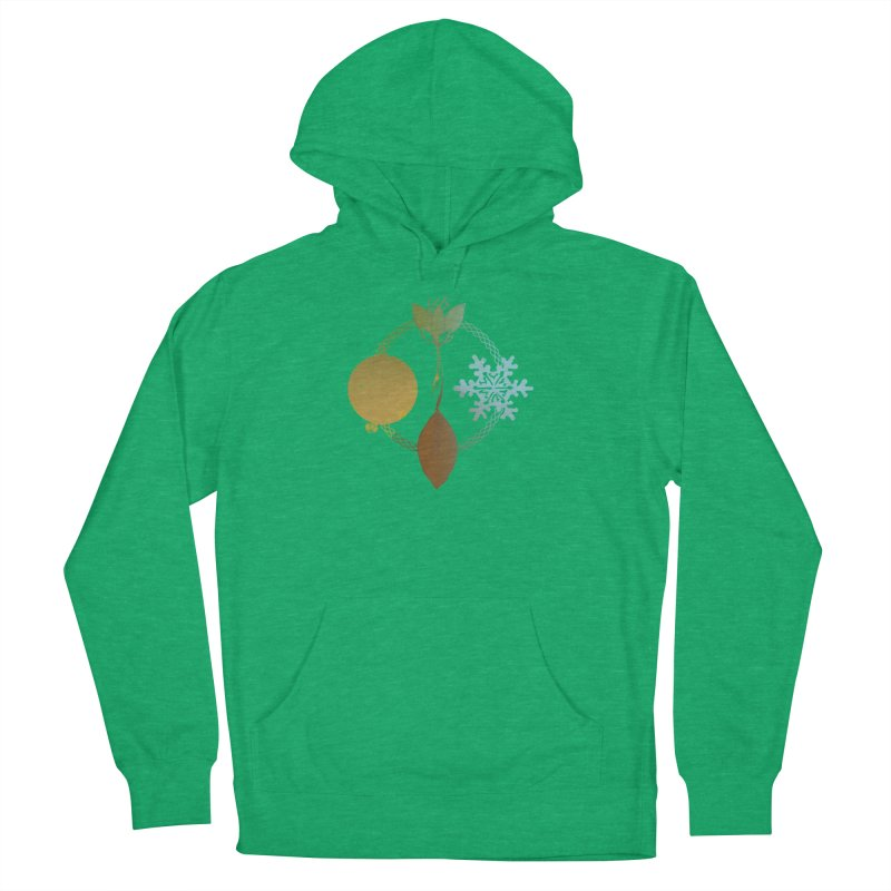 Tribes of the Seasons Men's French Terry Pullover Hoody by DystopiaRising's Artist Shop