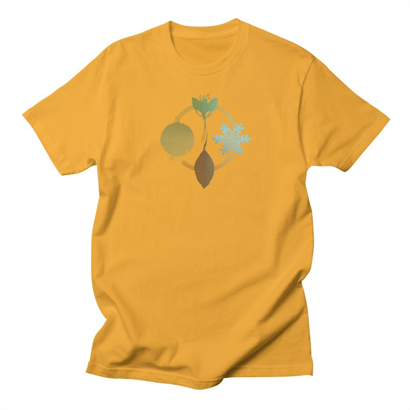 Tribes of the Seasons Men's Regular T-Shirt by Dystopia Rising's Artist Shop