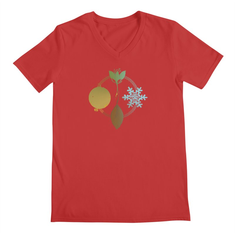 Tribes of the Seasons Men's V-Neck by Dystopia Rising's Artist Shop