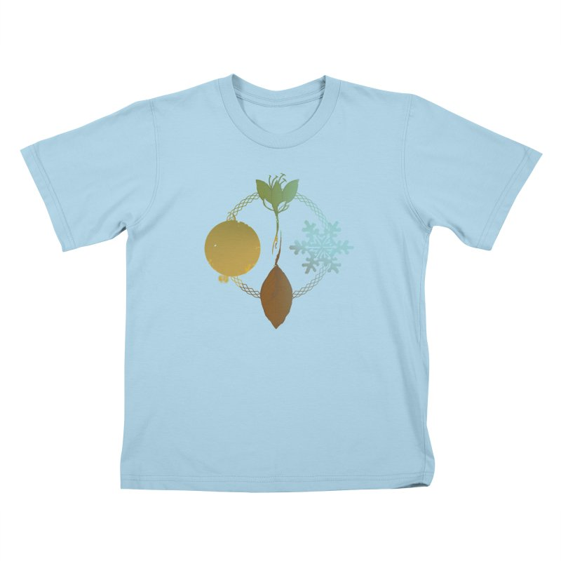 Tribes of the Seasons Kids T-Shirt by Dystopia Rising's Artist Shop