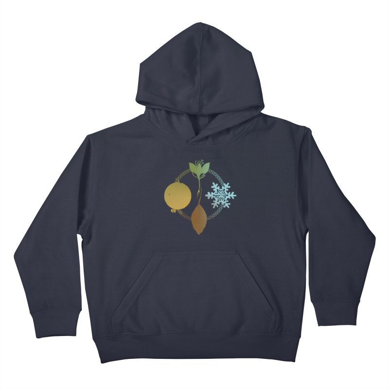 Tribes of the Seasons Kids Pullover Hoody by Dystopia Rising's Artist Shop