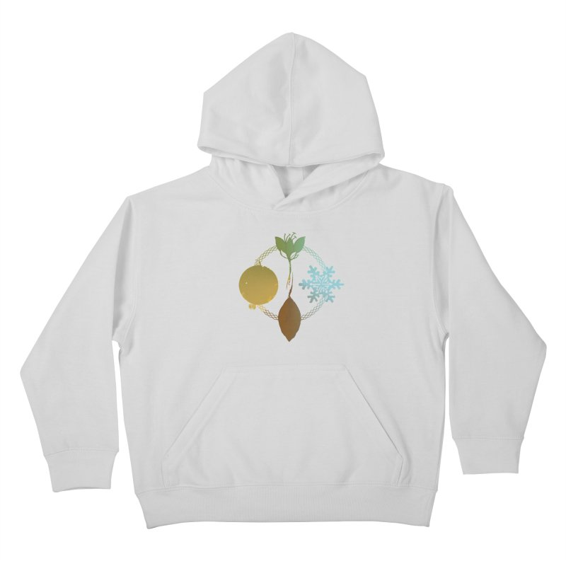 Tribes of the Seasons Kids Pullover Hoody by DystopiaRising's Artist Shop