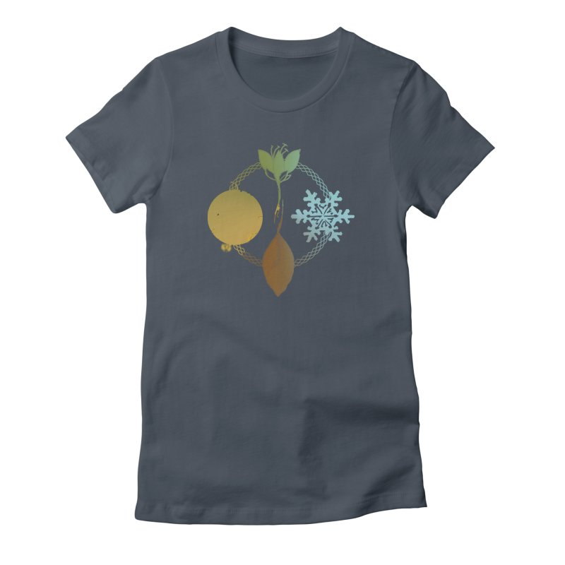 Tribes of the Seasons Women's T-Shirt by Dystopia Rising's Artist Shop