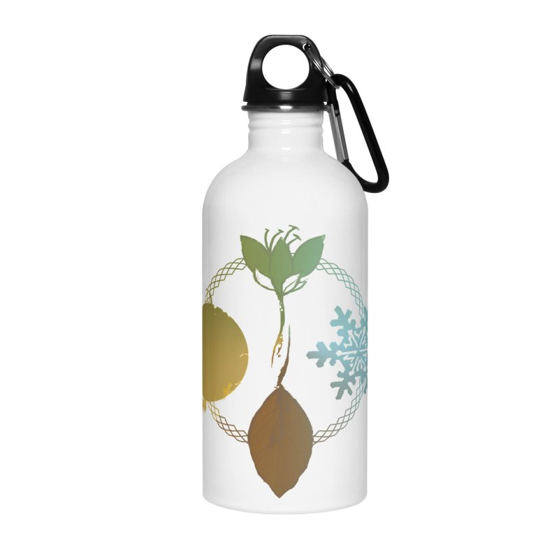 Tribes of the Seasons Accessories Water Bottle by Dystopia Rising's Artist Shop