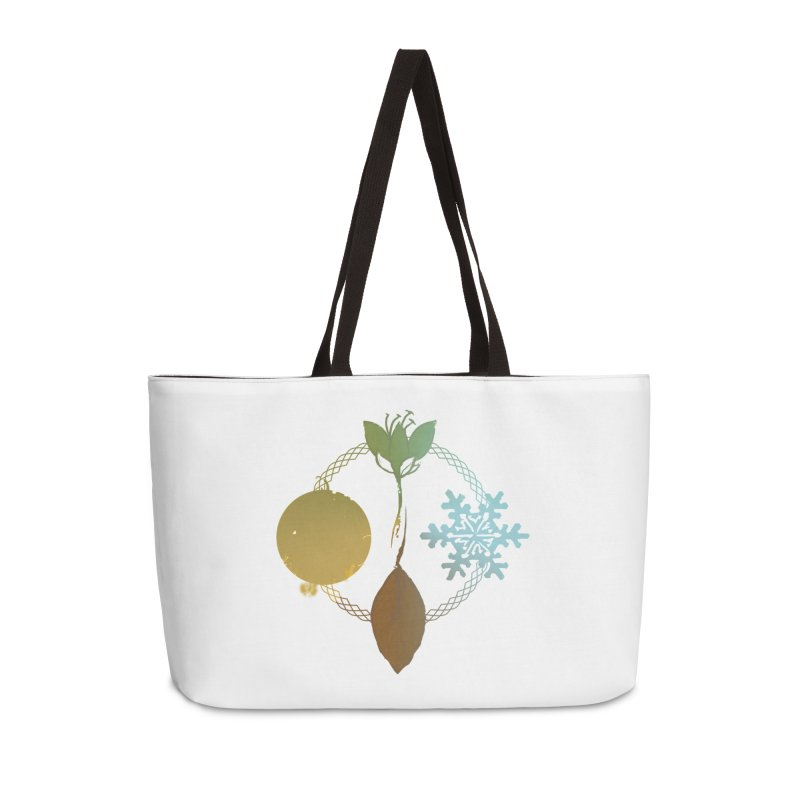 Tribes of the Seasons Accessories Weekender Bag Bag by Dystopia Rising's Artist Shop