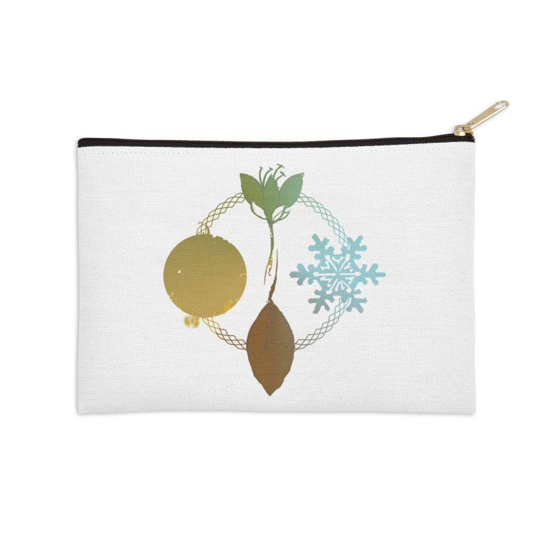 Tribes of the Seasons Accessories Zip Pouch by DystopiaRising's Artist Shop