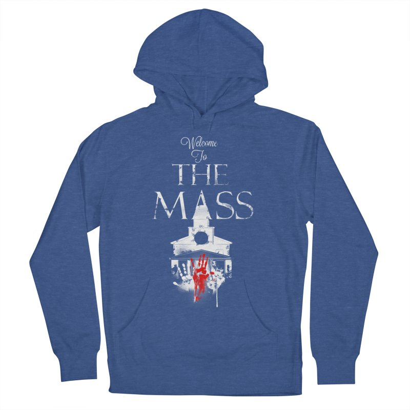 Massachusetts - The Grove Men's French Terry Pullover Hoody by Dystopia Rising's Artist Shop