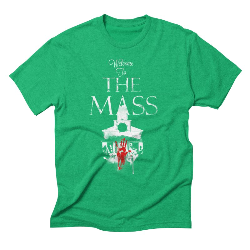 Massachusetts - The Grove Men's Triblend T-Shirt by DystopiaRising's Artist Shop
