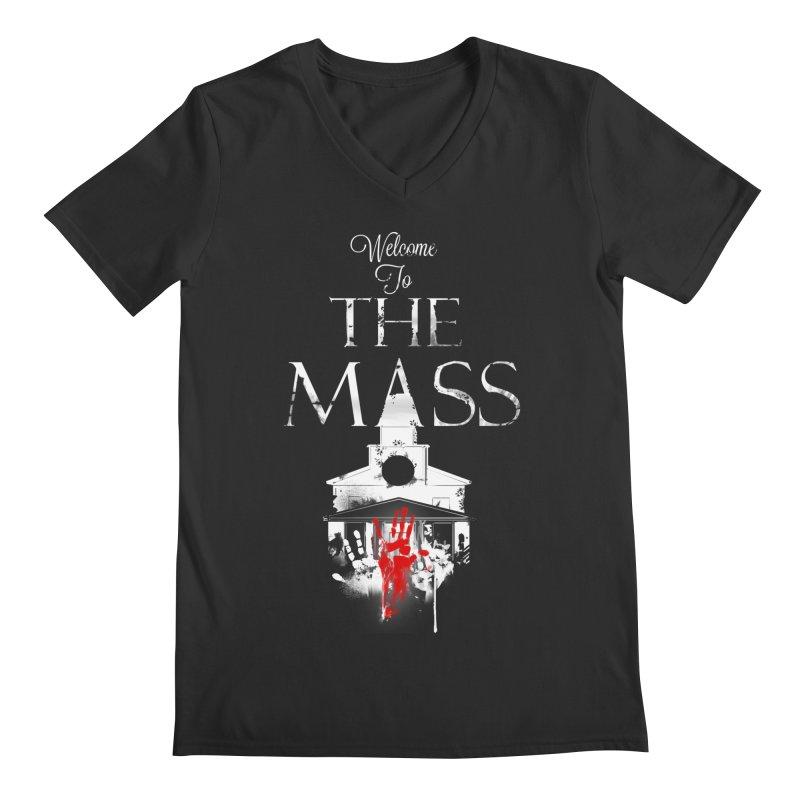 Massachusetts - The Grove Men's Regular V-Neck by DystopiaRising's Artist Shop