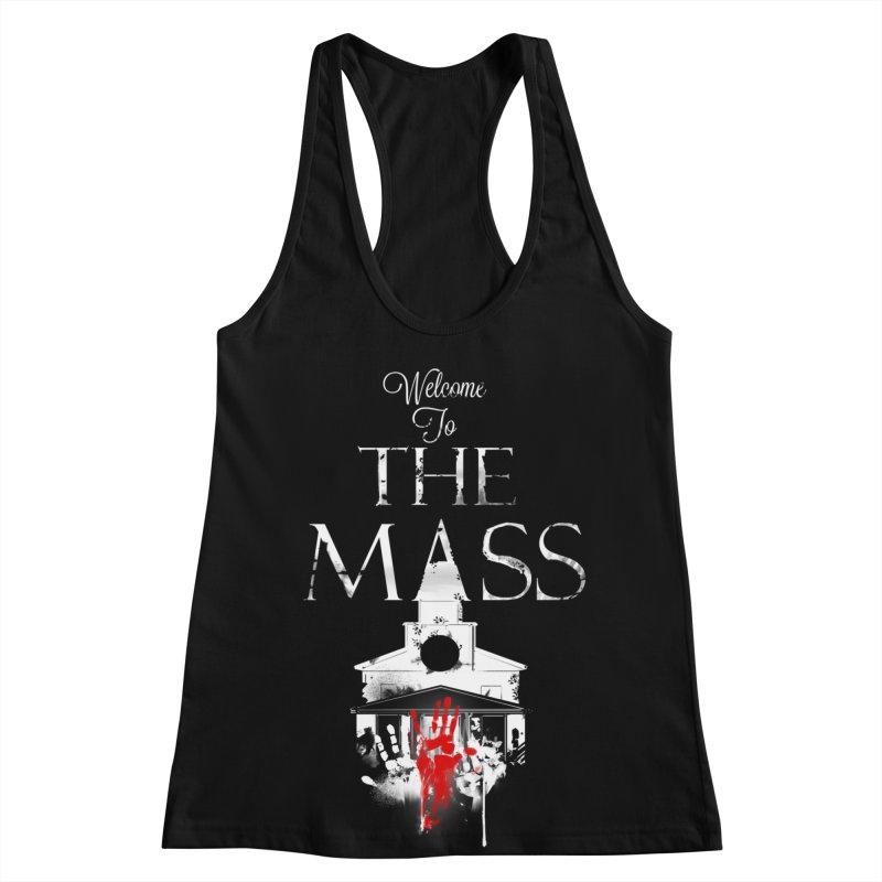 Massachusetts - The Grove Women's Racerback Tank by Dystopia Rising's Artist Shop