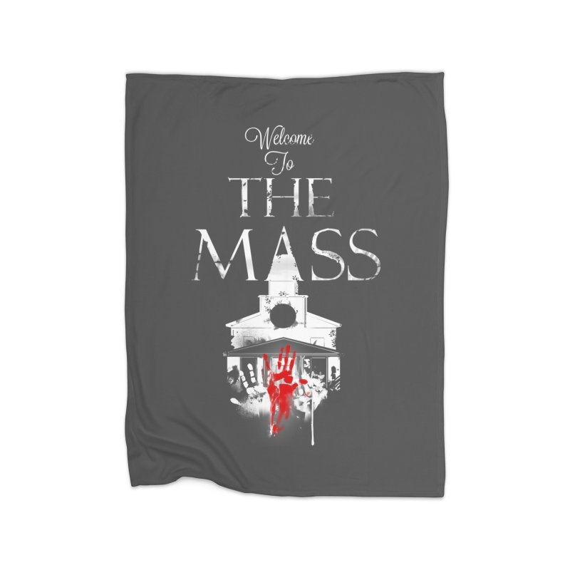 Massachusetts - The Grove Home Fleece Blanket Blanket by Dystopia Rising's Artist Shop