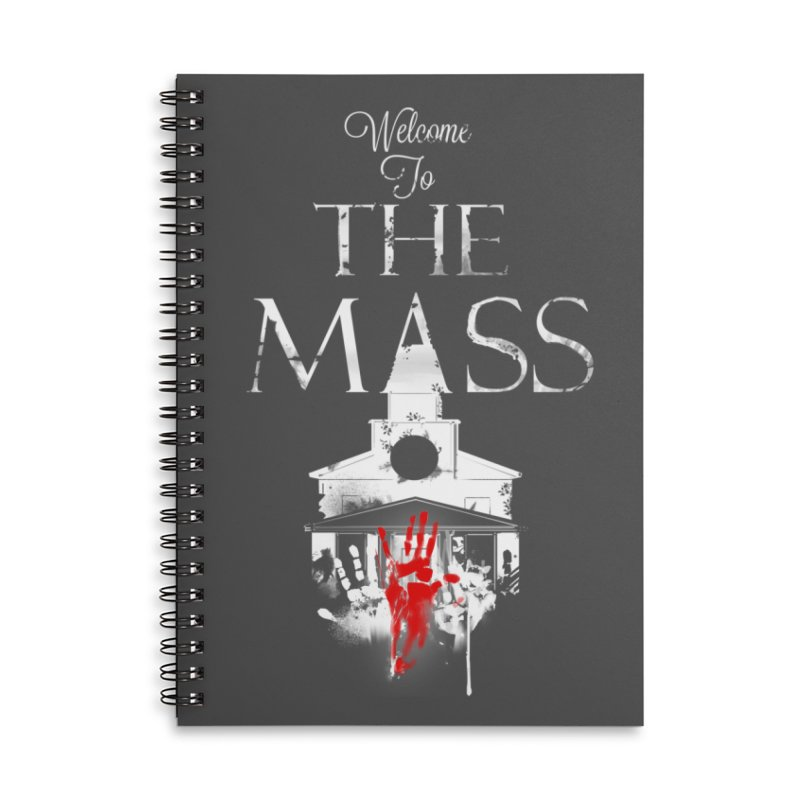 Massachusetts - The Grove Accessories Lined Spiral Notebook by Dystopia Rising's Artist Shop