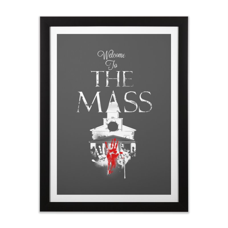 Massachusetts - The Grove Home Framed Fine Art Print by Dystopia Rising's Artist Shop
