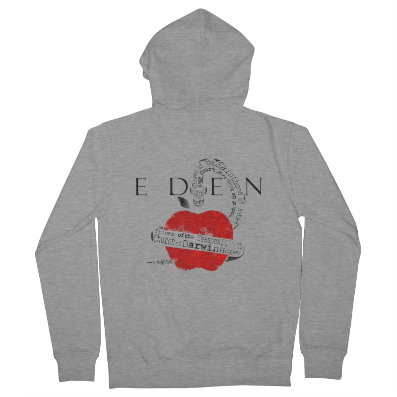 Virginia - Eden Women's French Terry Zip-Up Hoody by DystopiaRising's Artist Shop