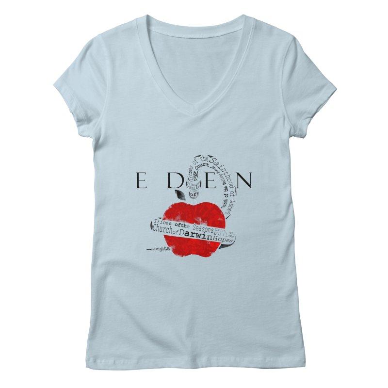 Virginia - Eden Women's V-Neck by Dystopia Rising's Artist Shop